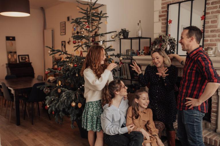 Séance photo Noël en famille